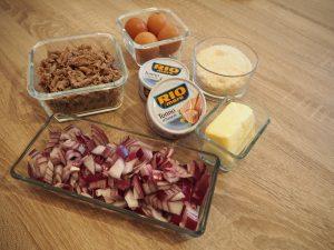 suroviny na pripravu receptu